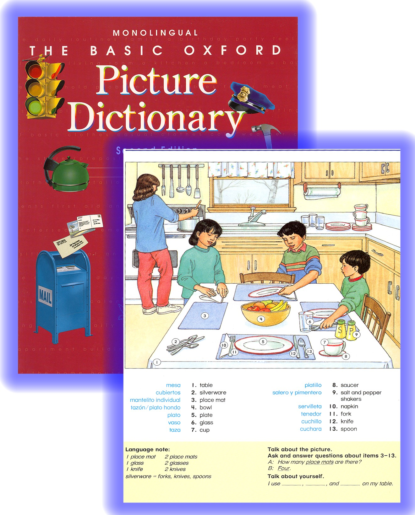 Basic Oxford Picture Dictionary: The Literacy Program