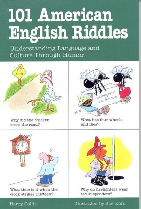 101 american english riddles book
