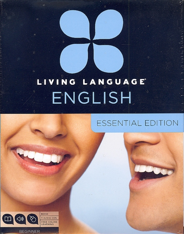 Living Language English Essential Edition: 1 Book, 3 Audio CD's, Online  Access