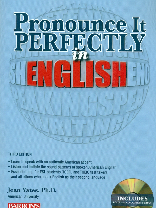 Pronounce It Perfectly in English Book with Audio CD's 4